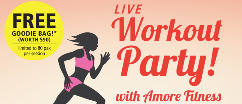 Workout Party With Amore Fitness