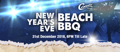 New Year's Eve Beach BBQ Party