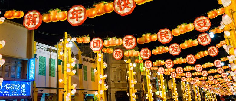Chinese New Year Celebration 2019: Street Light Up