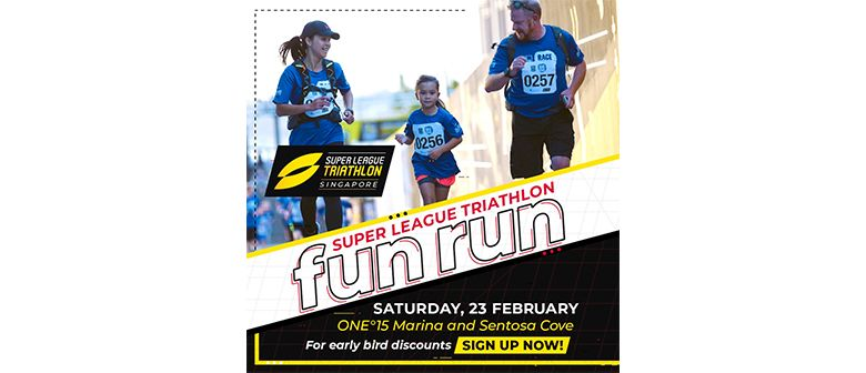 Super League Triathlon Fun Run