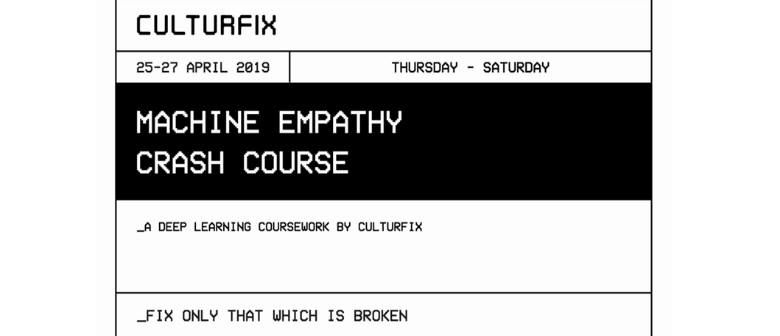 The Studios RAW 2019: Machine Empathy Crash Course