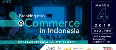 Breaking into E-Commerce in Indonesia