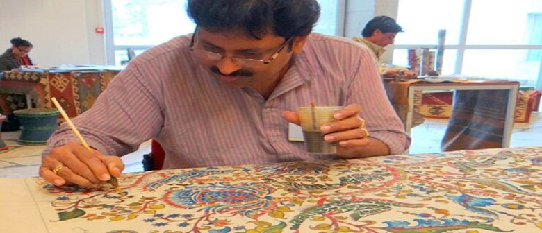 Kala Sangam – Kalamkari Painting Craft Demonstration