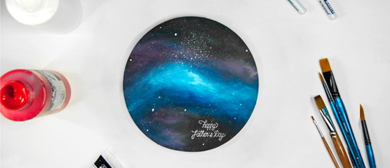 Galaxy Painting Workshop – Father's Day Edition