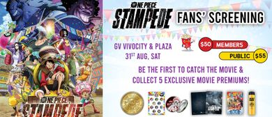 One Piece: Stampede Fans' Screening