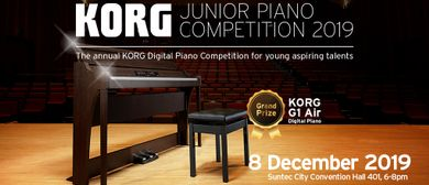 Korg Junior Piano Competition 2019