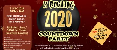 U Bowling 2020 Countdown Party