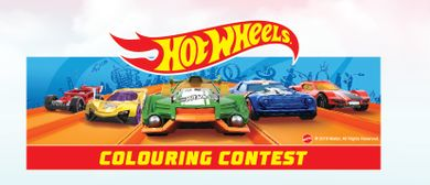 Hot Wheels Colouring Contest