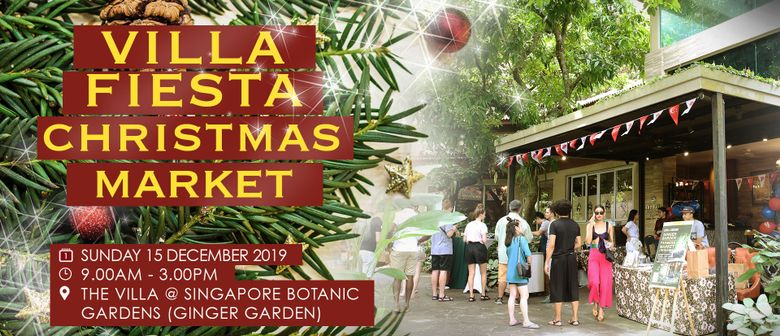 The Villa Fiesta Christmas Market