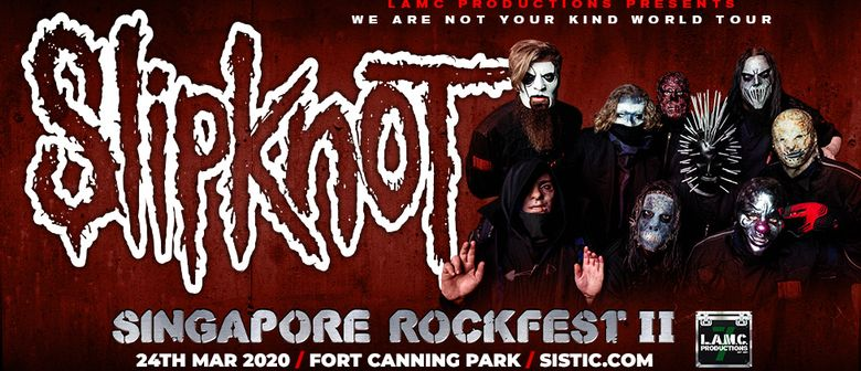 Singapore Rockfest II: Slipknot