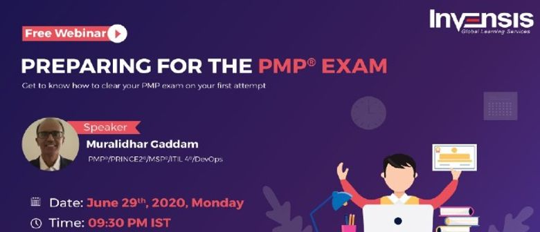 Preparing for The PMP Exam