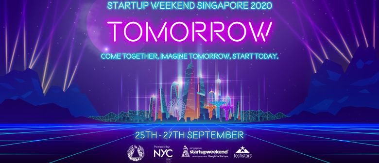 Startup Weekend Singapore 2020: Tomorrow