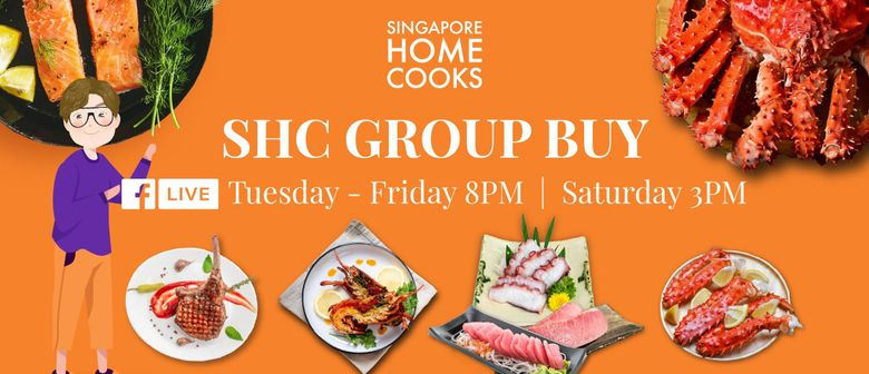 Singapore Home Cooks Facebook Live Group Buy