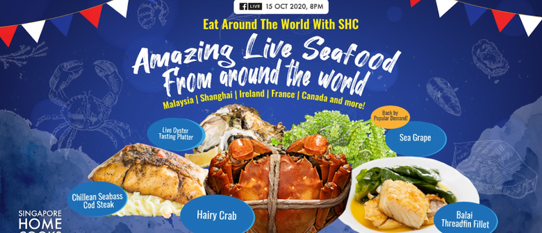 Singapore Home Cooks: Amazing Seafood from Around the World
