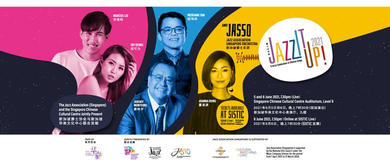 Jazz It Up! A Jazzy Celebration of Chinese Songs 2021