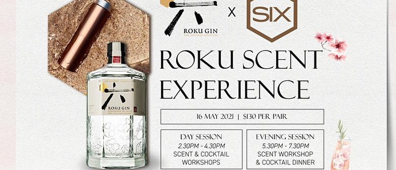 Roku Gin x Scent by Six - The Roku Scent Experience